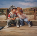 Картины с детьми