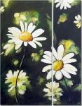 Модульная картина цветы 681