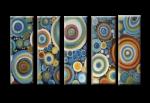 Модульная картина абстракция 08-03