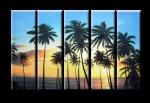 Пальмы и небо 08-23