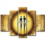 Модульная картина Девушки на солнце 08-138