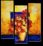 Цветы в вазе 51-154