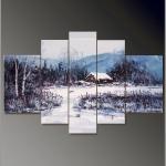 Зимний пейзаж 51-166